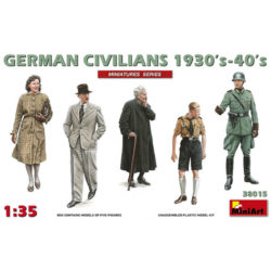 miniart 38015 German Civilians 1930-40s figuras escala 1/35