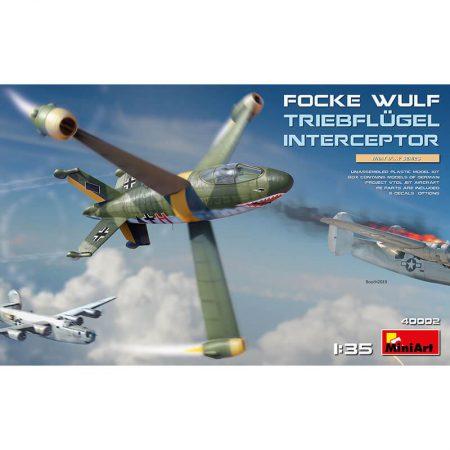 miniart 40002 Focke Wulf Triebflügel Interceptor maqueta escala 1/35