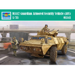 trumpeter 01541 M1117 Guardian Armored Security Vehicle (ASV) maqueta escala 1/35