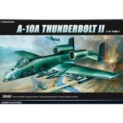 Fairchild-Republic A-10A Thunderbolt II maqueta escala 1/72