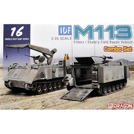 dragon 3622 IDF M113 Fitters & Chata'p Field Repair Vehicle Middle East War Series Combo Set maquetas escala 1/35
