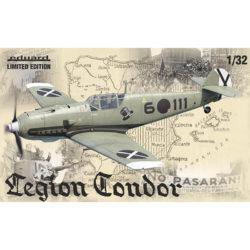 eduard 11105 Messerschmitt Bf 109E Legión Condor Edición Limitada maqueta escala 1/32