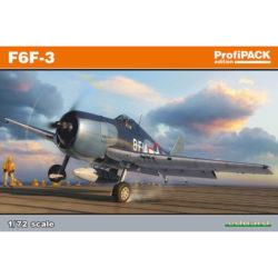 eduard 7074 Grumman F6F-3 Hellcat profiPACK maqueta escala 1/72