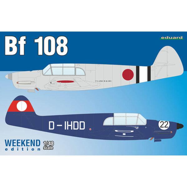 eduard 8479 Messerschmitt Bf 108 Taifun weekend edition maqueta escala 1/48