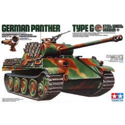 tamiya 35174 German Panther Type G Steel Wheel Version Pz.Kpfw.V Ausf.G Sd.Kfz.171 mit Stahlrollenlaufwerk maqueta escala 1/35