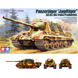 tamiya 35295 Sd.Kfz.186 Panzerjäger Jagdtiger Frühe Production maqueta escala 1/35