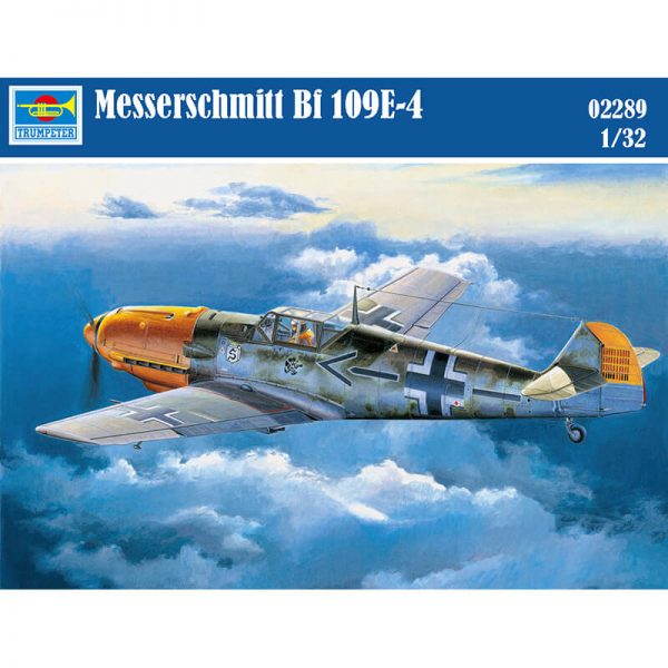 trumpeter 02289 Messerschmitt Bf 109E-4 maqueta escala 1/32