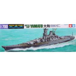tamiya 31113 Japanese Battleship Yamato maqueta escala 1/700