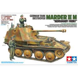 tamiya 35364 German Tank Destroyer Marder III Ausf.M Normandy Front maqueta escala 1/3