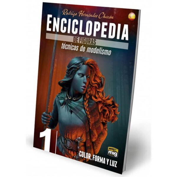 AMIG 6231 Enciclopedia De Técnicas De Modelismo De Figuras Vol. 1 - Color, Forma y luz texto en castellano
