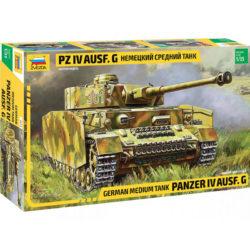 ZVEZDA 3674 German Sd.Kfz.161 Panzer IV Ausf. G maqueta escala 1/35
