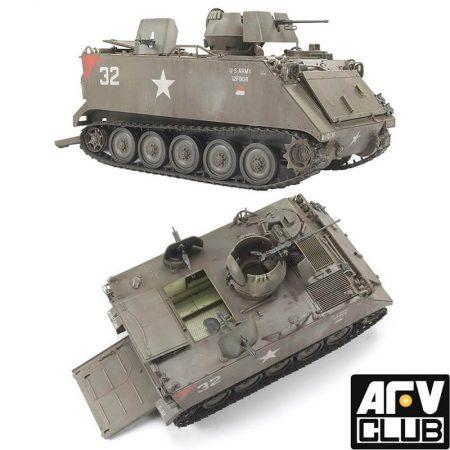 afv club 35113 M113A1 (ACAV) Armored Cavalry Assault Vehicle Viet Nam War maqueta escala 1/35