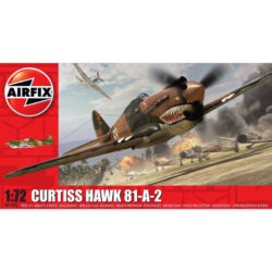 airfix a01003 Curtiss Hawk 81-A-2 1/72Kit en plástico para montar y pintar.Hoja de calcas con 1 decoración.