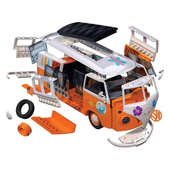 airfix j6032 Volkswagen VW Camper Van Surfin Quickbuild