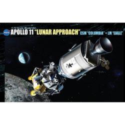 dragon 11001 Apollo 11 Lunar Approach CSM Columbia + LM Eagle maqueta escala 1/72