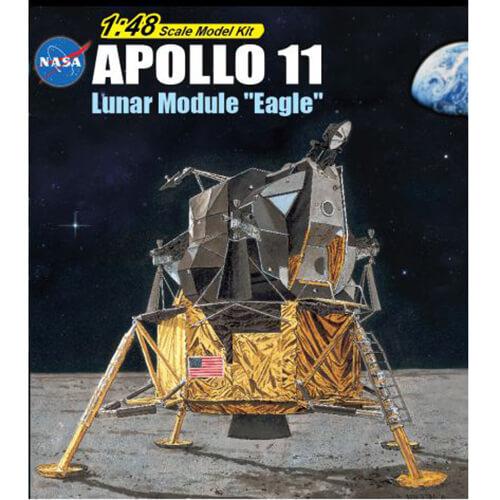 dragon 11008 Apollo 11 Lunar Module Eagle maqueta escala 1/48