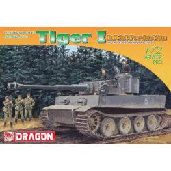 dragon 7370 Tiger I Initial Production s.Pz.Abt.502 Leningrad 1942 Pz.Kpfw.VI Ausf.E Sd.Kfz.181 maqueta escala 1/72