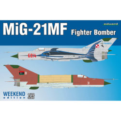 MiG-21MF Fighter-Bomber Weekend Edition maqueta escala 1/72