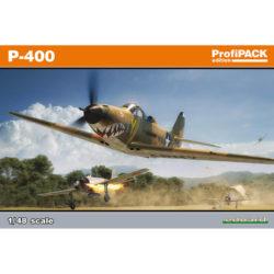 Bell P-400 Airacobra profiPACK Edition maqueta escala 1/48 de Eduard 8092