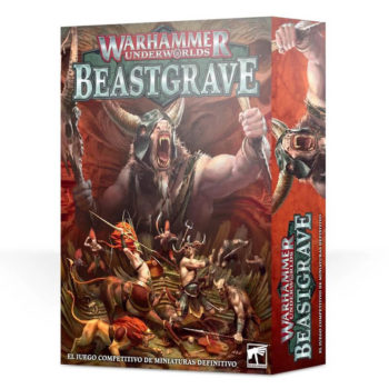 games workshop 110-02 Warhammer Underworlds: Beastgrave Beastgrave es un juego de miniaturas ambientado en el universo de Warhammer. En la caja tienes todo lo necesario para empezar a jugar