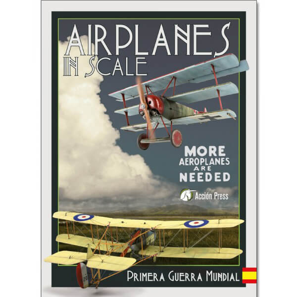 gm-as3 accion press Airplanes in Scale - Primera Guerra Mundial 144 paginas texto en castellano