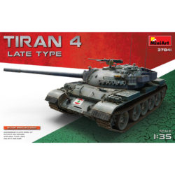 miniart 37041 Tiran 4 Late Type maqueta escala 1/35