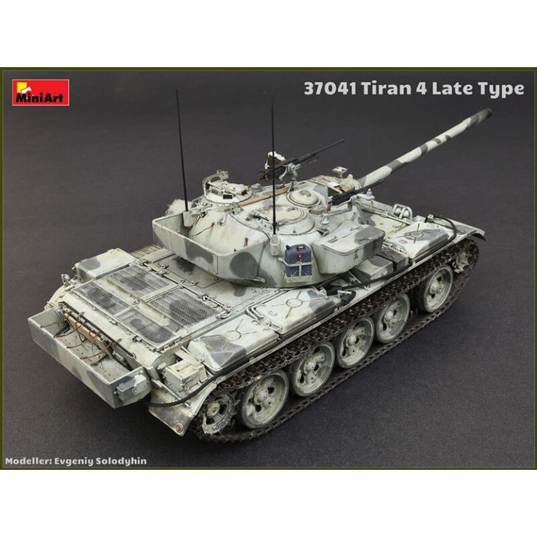 miniart 37041 Tiran 4 Late Type maqueta escala 1/35