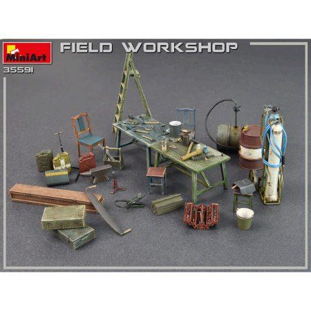 Field Workshop WWII maqueta escala 1/35