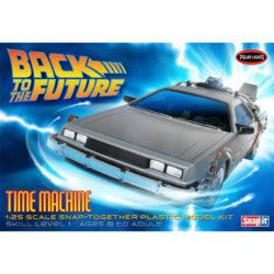 Polar Lights pll911 Back To The Future DeLorean Time Machine Car kit en plástico para montar y pintar. Escala 1/25