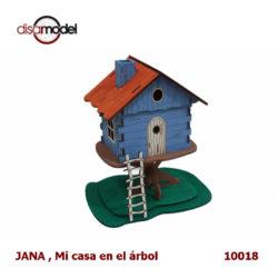 disarmodel 10018 JANA , Mi casa en el árbol maqueta en madera