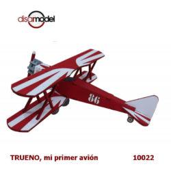 disarmodel 10022 TRUENO, mi primer avión maqueta para principiantes en madera