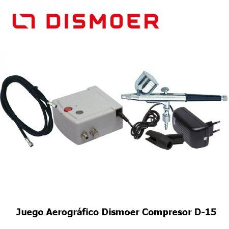 dismoer 26100 Juego Aerográfico Dismoer Compresor D-15