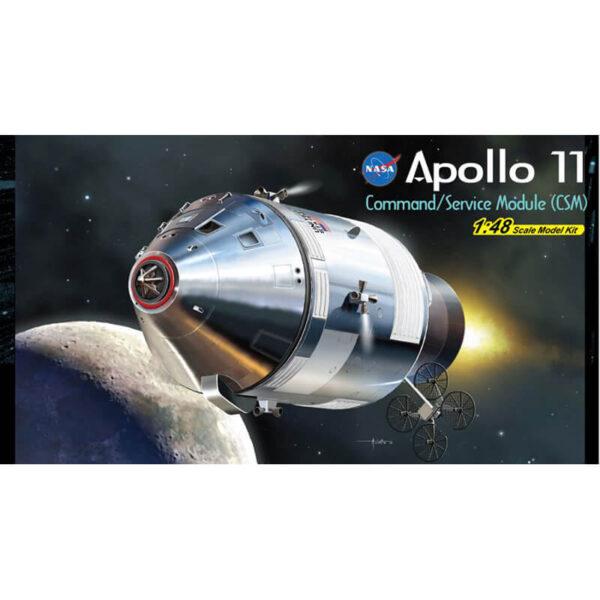 dragon 11007 Apollo 11 Command/Service Module (CSM) maqueta escala 1/48