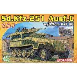 dragon 7606 Sd.Kfz.251/7 Ausf.C Pionierpanzerwagen (2 in 1) maqueta escala 1/72