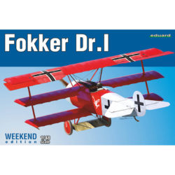 eduard 8487 Fokker Dr. I Weekend Edition maqueta escala 1/48