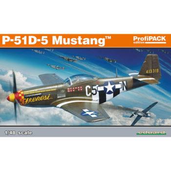 edusrd 82101 P-51D-5 Mustang profiPACK maqueta escala 1/48