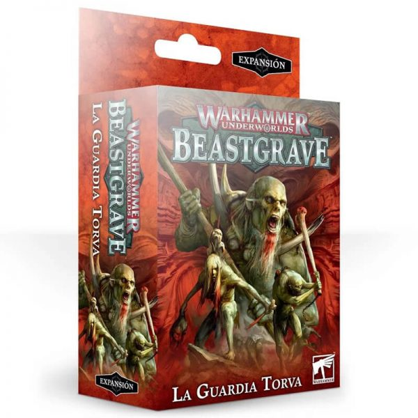 games workshop 110-63-03 Warhammer Underworlds: Beastgrave – La Guardia Torva