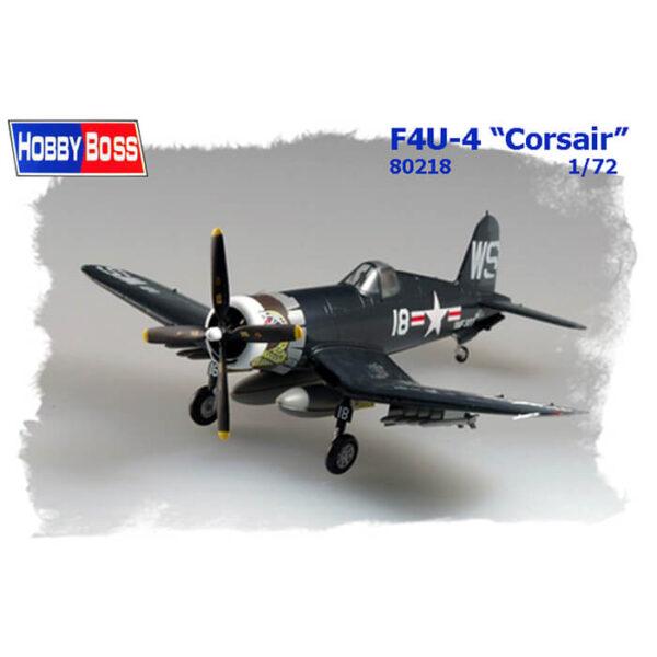 hobby boss 80218 F4U-4 Corsair maqueta escala 1/72