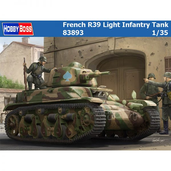 hobby boss 83893 French R39 Light Infantry Tank maqueta escala 1/35