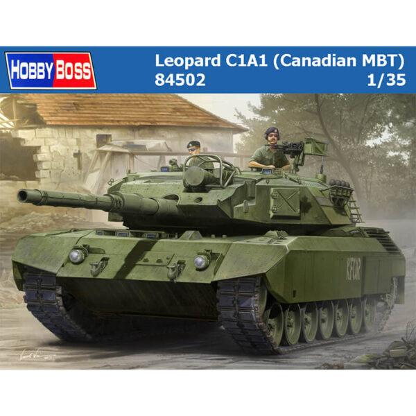 hobby boss 84502 Leopard C1A1 Canadian MBT maqueta escala 1/35