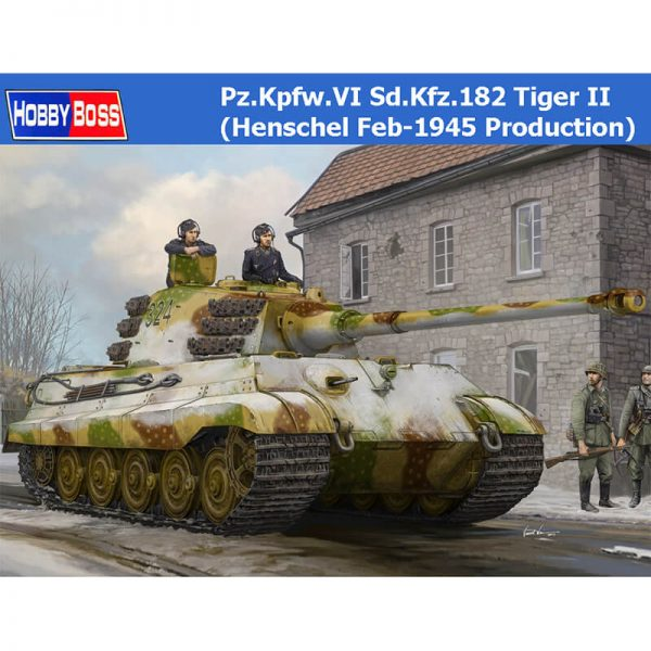 hobby boss 84532 Pz.Kpfw.VI Sd.Kfz.182 Tiger II (Henschel Feb 1945 Production)