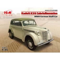 icm 35483 Kadett K38 Cabriolimousine WWII German Staff Car maqueta escala 1/35