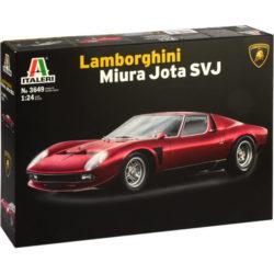 italeri 3649 Lamborghini Miura JOTA SVJ maqueta escala 1/24