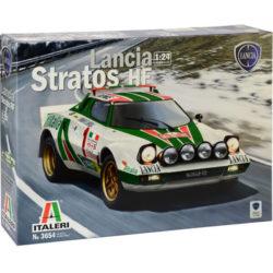 italeri 3654 LANCIA STRATOS HF maqueta escala 1/24