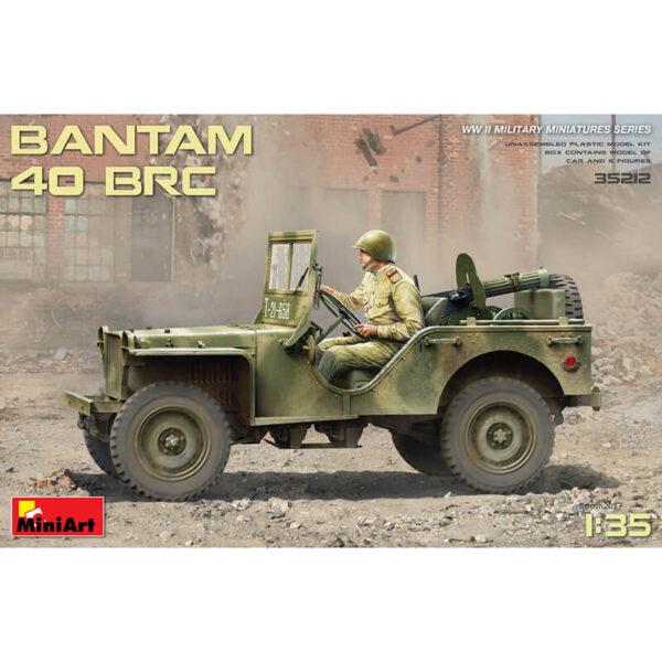 miniart 35212 BANTAM 40 BRC maqueta escala 1/35