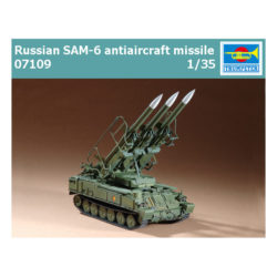 trumpeter 07109 Russian SAM-6 antiaircraft missile maqueta escala 1/72