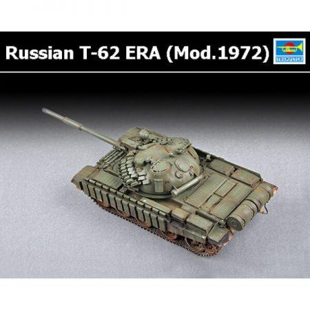 trumpeter 07149 Russian T-62 ERA (Mod.1972) maqueta escala 1/72