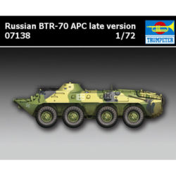 trumpeter 7138 Russian BTR-70 APC late version maqueta escala 1/72