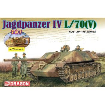 dragon 6498 Jagdpanzer IV L/70(V) (2 in 1) maqueta escala 1/35