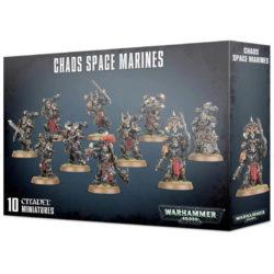 games workshop 43-06 Warhammer 40K Chaos Space Marines